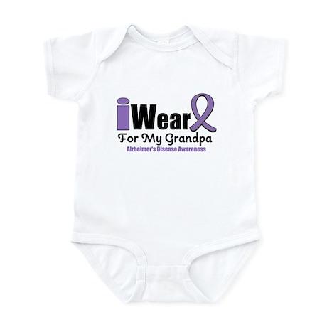 I Wear Purple (Grandpa) Infant Bodysuit
