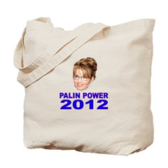 Palin Power 2012 Tote Bag