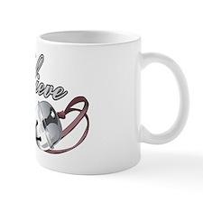 BELIEVE (SILVER BELL) Small Mug