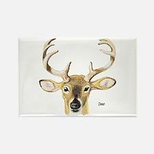 Deer Antler Rectangle Magnet