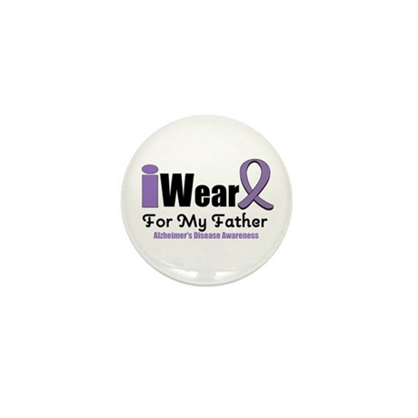 I Wear Purple (Father) Mini Button