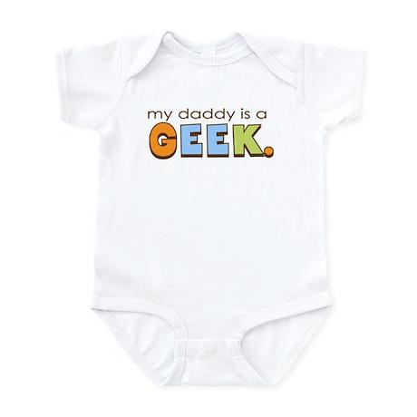 My Daddy is a Geek Infant Bodysuit