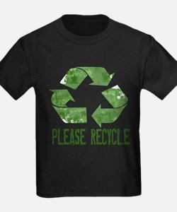 Please Recycle Grunge T