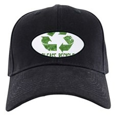 Please Recycle Grunge Baseball Hat