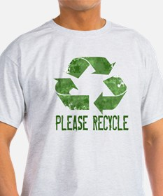 Please Recycle Grunge T-Shirt