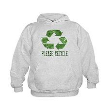 Please Recycle Grunge Hoodie