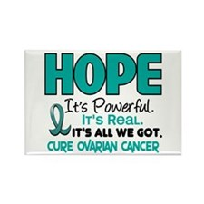 HOPE Ovarian Cancer 1 Rectangle Magnet
