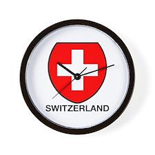 Switzerland Wall Clock