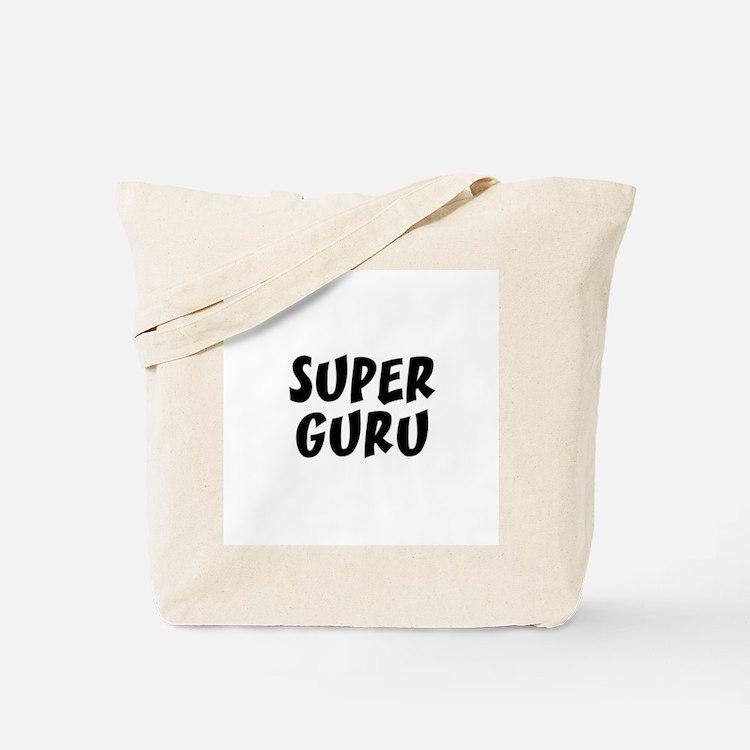 SUPER GURU  Tote Bag