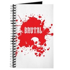Brutal Blood Splatter Journal
