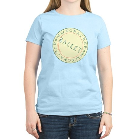 Nutcracker Ballet Stamp Women's Light T-Shirt
