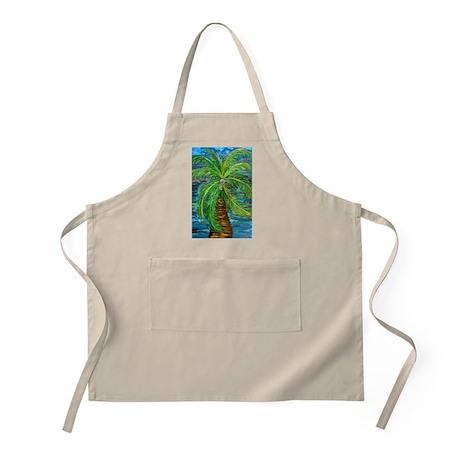 Funcky Palm Tree BBQ Apron
