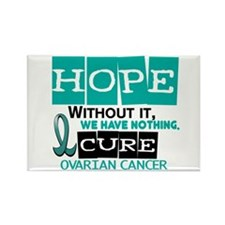 HOPE Ovarian Cancer 2 Rectangle Magnet