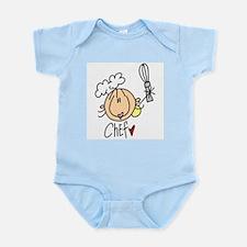 Female Chef Infant Bodysuit