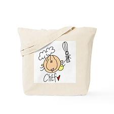 Female Chef Tote Bag