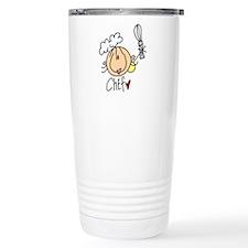 Female Chef Travel Mug