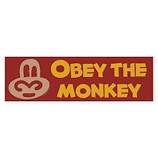 Obey Monkey Bumper Bumper Sticker