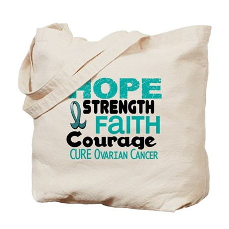 HOPE Ovarian Cancer 3 Tote Bag