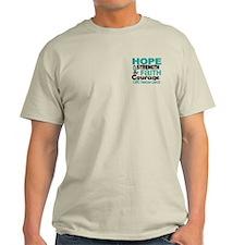 HOPE Ovarian Cancer 3 T-Shirt