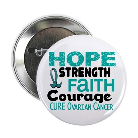 "HOPE Ovarian Cancer 3 2.25"" Button (100 pack)"