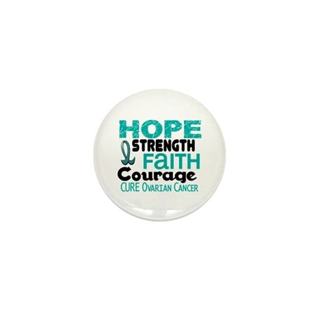 HOPE Ovarian Cancer 3 Mini Button (10 pack)