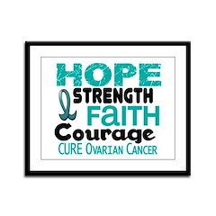 HOPE Ovarian Cancer 3 Framed Panel Print