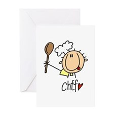 Male Chef Greeting Card