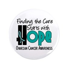 "HOPE Ovarian Cancer 4 3.5"" Button"