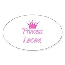 Princess Leona Oval Decal