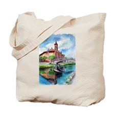 Milano and Lago Maggiore Tote Bag