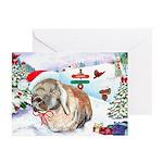 Giddeon Rabbit Hoppy Holiday Cards (Pk of 20)