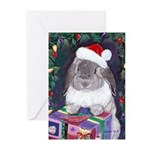 Rabbit Myrrh Christmas Holiday Cards (Pk of 20)