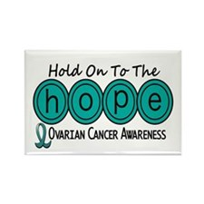 HOPE Ovarian Cancer 6 Rectangle Magnet
