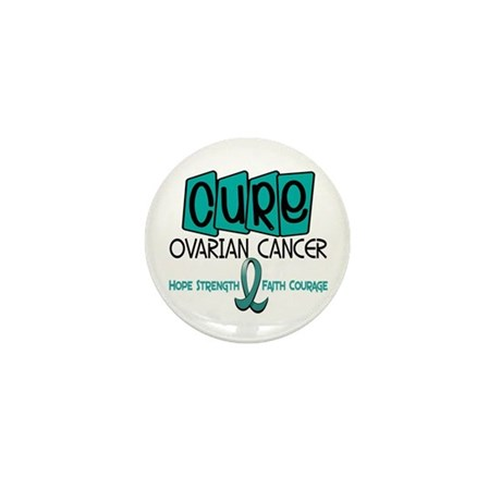 CURE Ovarian Cancer 1 Mini Button