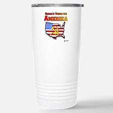 Amerika Stainless Steel Travel Mug
