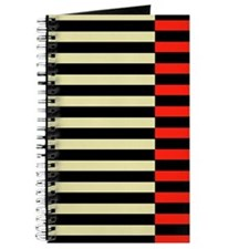Black and Red Stripes Journal/Notebook