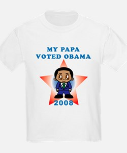 My Papa Voted Obama T-Shirt