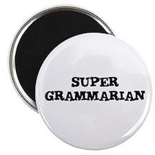 """SUPER GRAMMARIAN 2.25"""" Magnet (10 pack)"""
