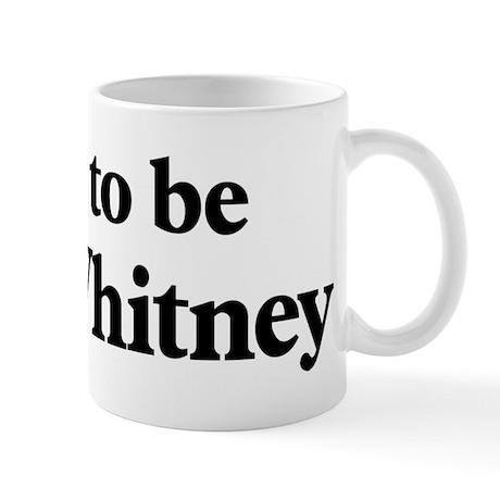 Soon to be Mrs. Whitney Mug