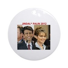Cute Bobby jindal Ornament (Round)