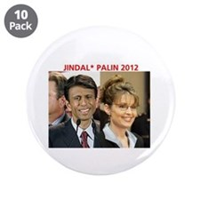 "Cute Bobby jindal 3.5"" Button (10 pack)"