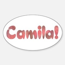 Camila! Design #178 Oval Decal