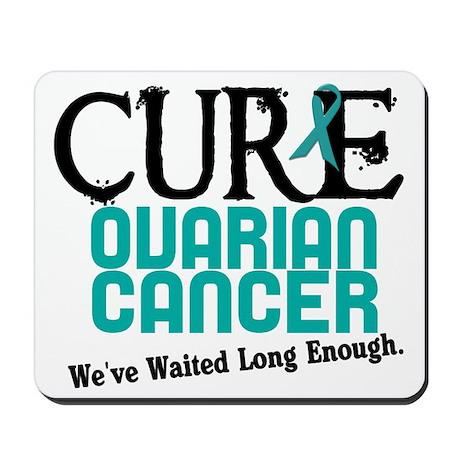 CURE Ovarian Cancer 3 Mousepad