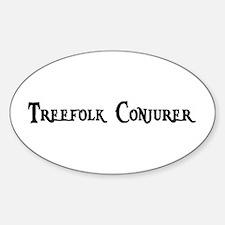 Treefolk Conjurer Oval Decal