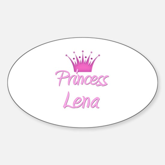 Princess Lena Oval Decal