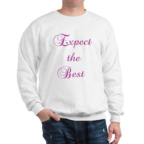Expect the Best Design #155 Sweatshirt