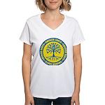 Swedish Roots Women's V-Neck T-Shirt