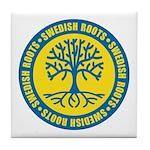 Swedish Roots Tile Coaster