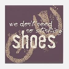 Stinking Shoes Tile Coaster