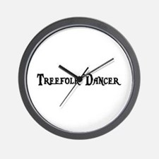 Treefolk Dancer Wall Clock
